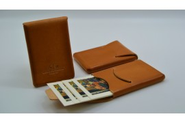 Business card holder or card holder with flap