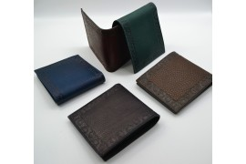 Decorated Bi-fold Wallet